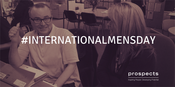 #InternationalMensDay: Prospects helps George find work